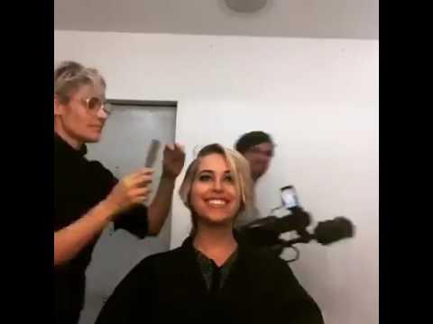 Lange Blonde Haare Abschneiden Und Rasieren Youtube