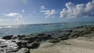 遥かなる南鳥島 海岸まで6分! 【OSMO】