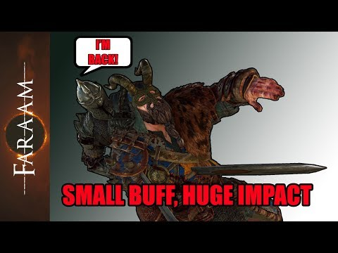[For Honor] Coming Warden Buff! The Valiant Gankbuster is coming back!
