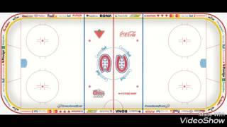 Theme  de  la  LNH  : Canadiens de  Montréal  2016-2017