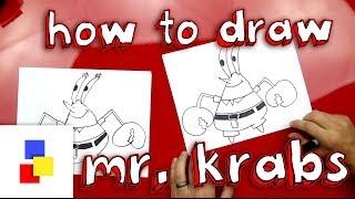 How To Draw Mr. Krabs