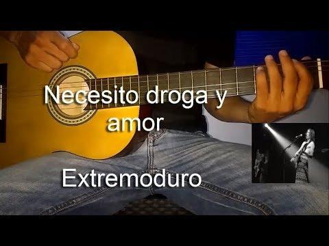 Aprende a tocar la canción: Necesito Droga y Amor - extremoduro | Tutorial Juancho Guitarra