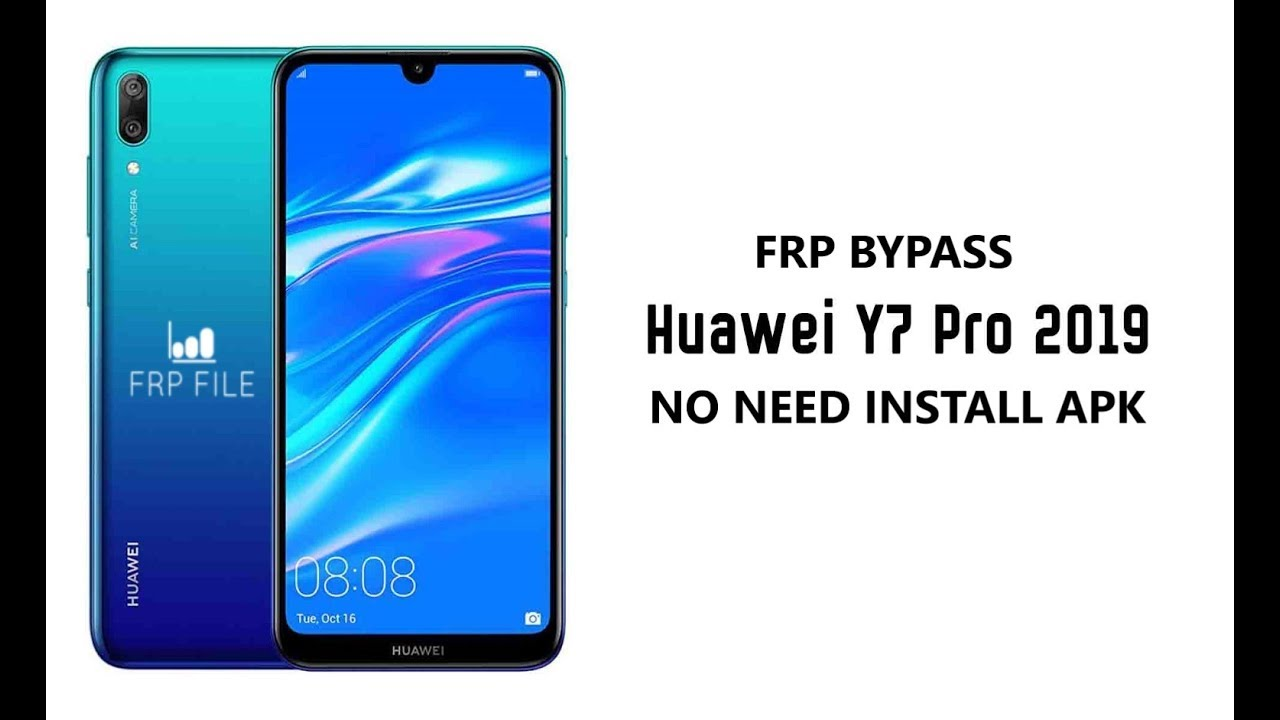 How to Bypass FRP Lock Huawei Y7 Pro 2019 (DUB-LX2) no need install APK file