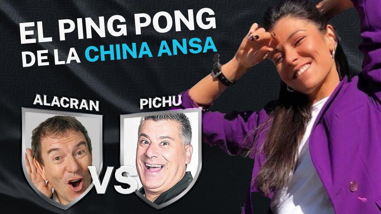 """#PingPong de """"La China"""": Alcrán Vs. Pichu"""