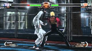 Virtua Fighter 5 FS:Goh Gameplay