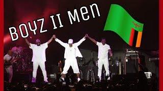 Boyz II Men Came To Zambia! (Vlog) | Nyemba