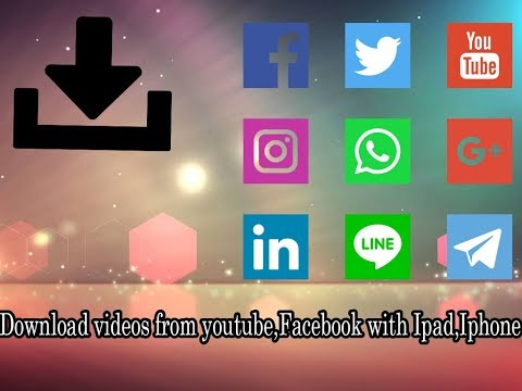 How To Download Videos From Facebook,youtube,instagram With Ipad,iphone