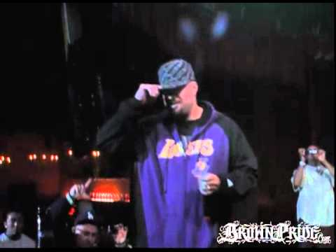 Sick Jacken, B-Real, Cynic and Eric Bobo of Cypress Hill Live