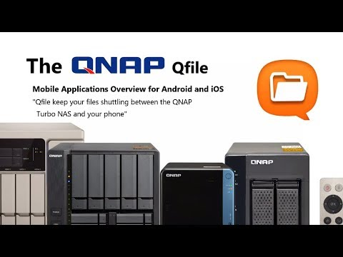QNAP Qfile App for Android and  iOS
