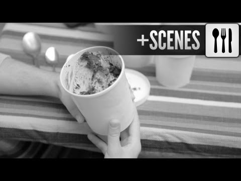 Paavo samples ice cream w Little Baby's - American Hipster Presents (Philadelphia)
