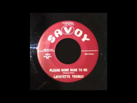 Lafayette Thomas - Please Come Back To Me