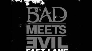 Bad Meets Evil - Fast Lane ft. Eminem, Royce Da 5'9 Instrumental (Best Quality)