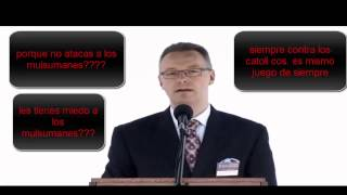 Testigos de Jehová y atacando a la iglesia catolica