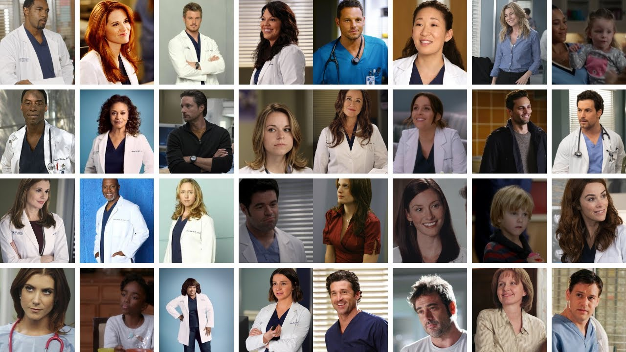 rating 50 greys anatomy characters from worst to best!