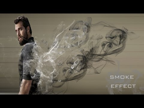 Photoshop CS6 -Dispersion Smoke Effects