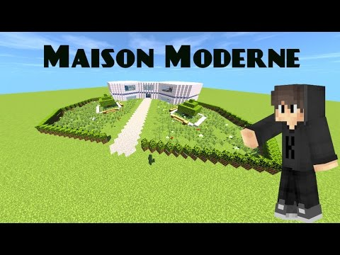 Minecraft comment faire une maison moderne part1 youtube - Comment faire une maison moderne minecraft ...