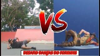 Fortnite Dances Challenge vs. Real life-uncle Cricket