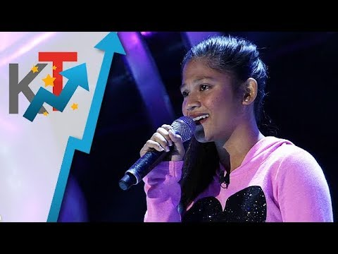 Cydel Gabutero Performs Angel For Her Blind Audition In The Voice Teens