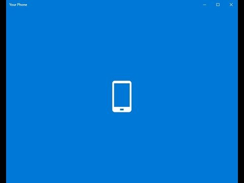 Setup Your Phone To Allow You To Text From Your PC And View Recent Photos