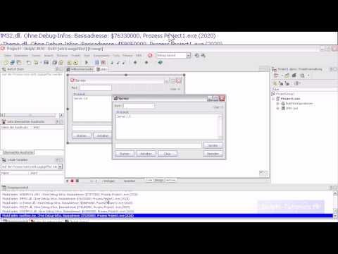 Delphi Tutorial: Chat (Deutsch/German) Teil 1/3