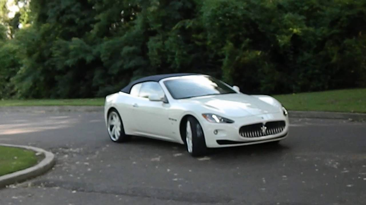 White Maserati