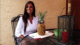 Diets & Weight Loss How to cut up a pineapple - Foods to lose weight