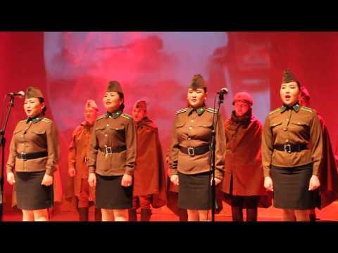 «Священная война», Эстафета Победы в Улан-Баторе, 10.04.2015