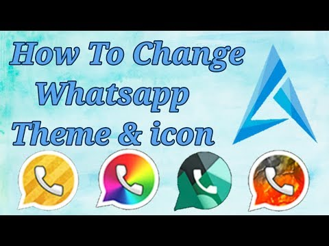 how-to-change-whatsapp-theme-colour-and-look-completely-[no-root]-2017-18-hindi