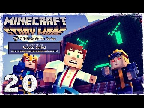 Смотреть прохождение игры Minecraft Story Mode. #20: Лаборатория.