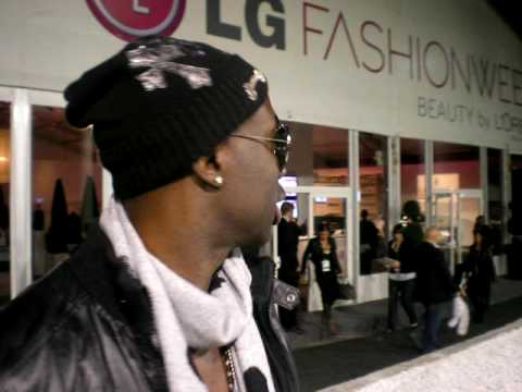 Future Stars TV 8 Sam Sarpong Gets Ready To Headline The Bustle Show LG Loreal Torotno Fashion Week