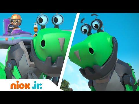 Расти-механик | Лучшие моменты с Ботозавром - часть 1 🦖 | Nick Jr. Россия