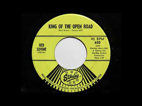Red Sovine - King Of The Open Road (Starday 650)
