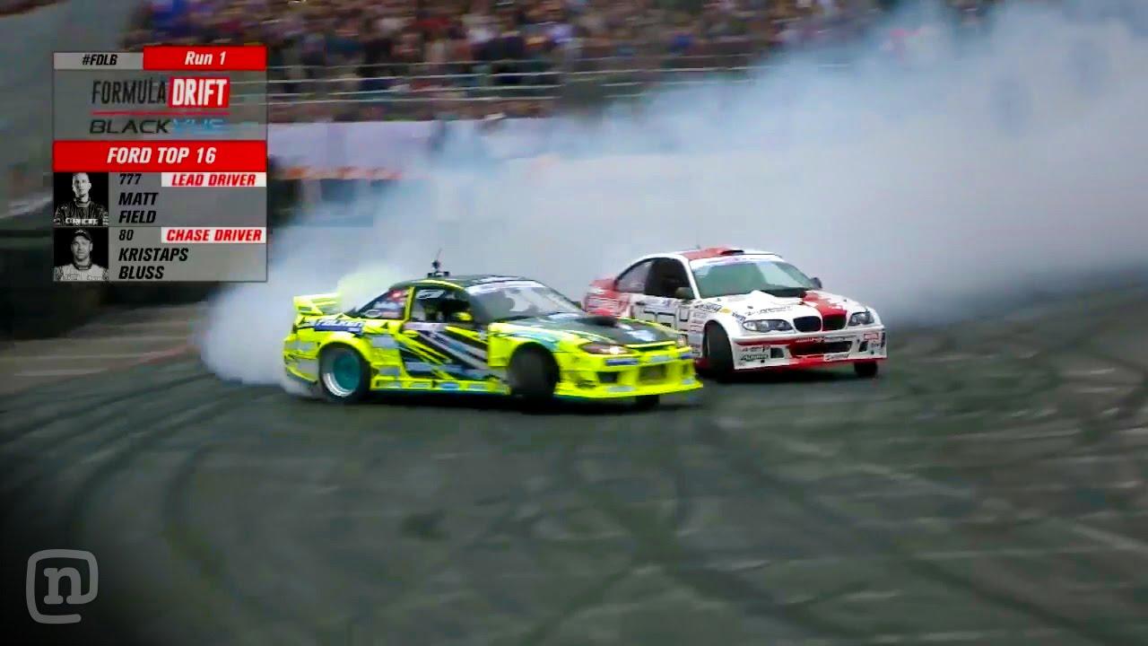 Formula Drift Long Beach: Top 16 Full Highlights - YouTube