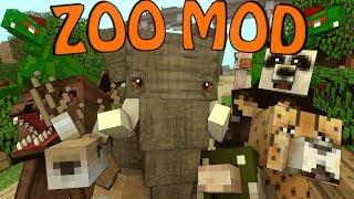 Minecraft | CRAZY ZOO ANIMALS MOD Showcase! (Mobs Mod, Crazy Zoo Animals, Zoo Mod)