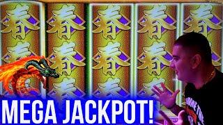 MASSIVE HANDPAY JACKPOT On High Limit Konami Slot   Winning Mega Bucks At Casino On Slots