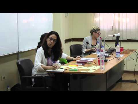 Learning from Cairo: presentation by Lindsey Sherman: Working Session 6