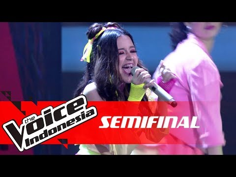 Virza - Thank You , Next (Ariana Grande) | SEMI FINAL |The Voice Indonesia GTV 2018