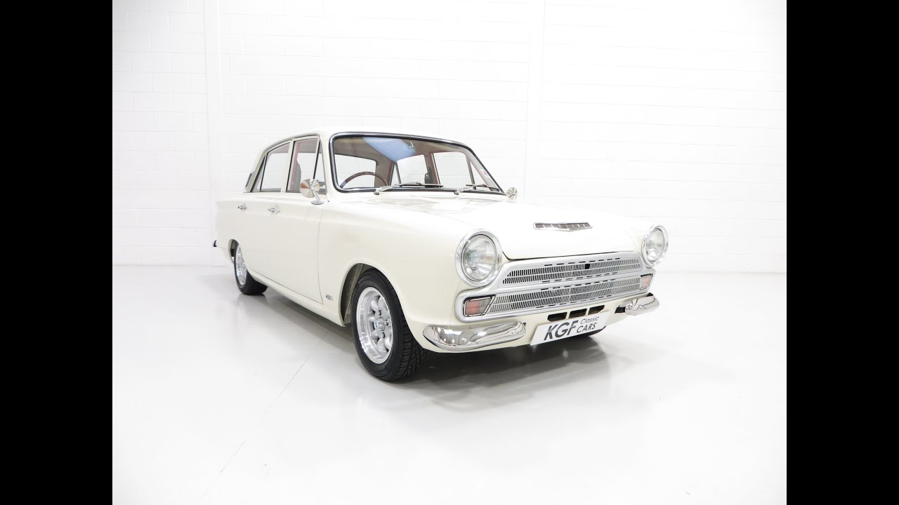 An Award Winning Mk1 Ford Cortina 1500 De Luxe with Awesome Performance   SOLD!