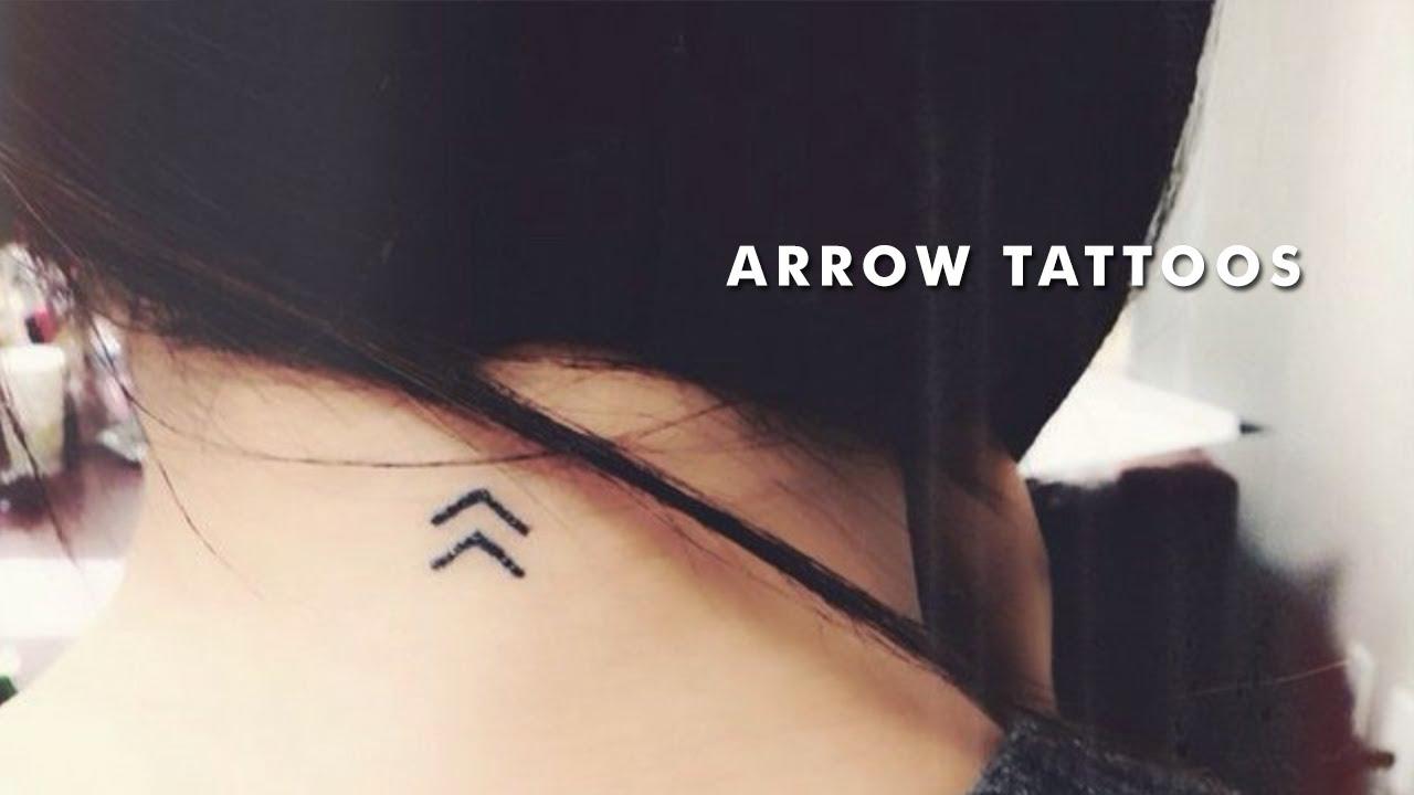 a23a801720250 20 Small Arrow Tattoos - YouTube