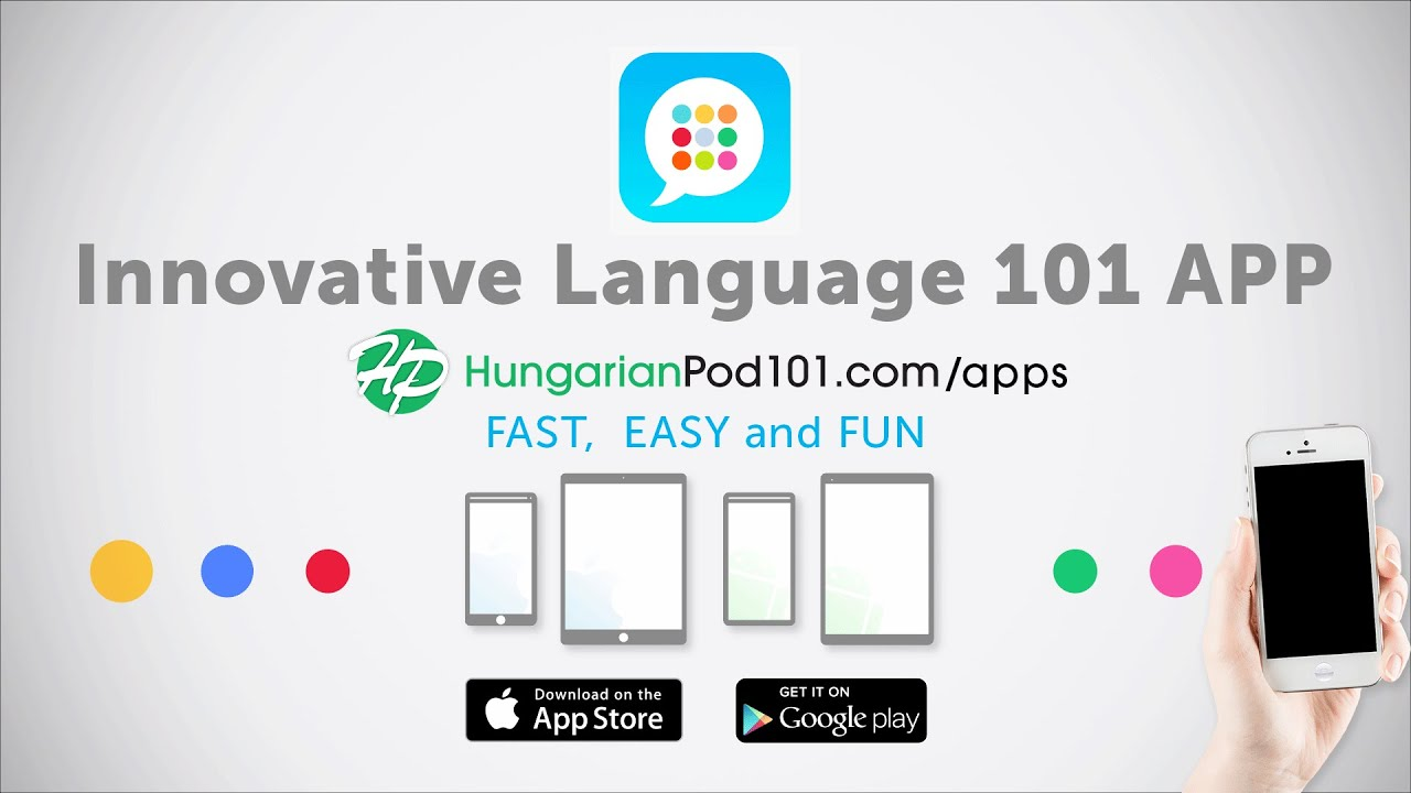Learn Hungarian with our FREE Innovative Language 101 App!