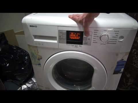 Как включить стиральную машину beko
