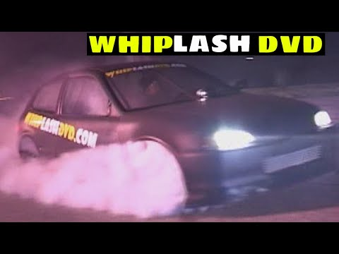 Carlisle Pike Burnouts and Reverse Donuts in the race car - WHIPLASH 2 Up In Smoke