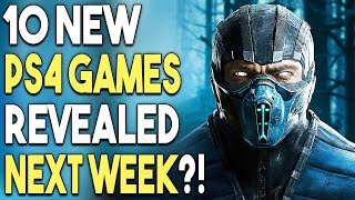 10 New PS4 Games Revealed Next Week?! Batman Arkham Collection is $60 WHAT?!