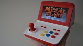 JXD Mini Arcade Machine ..... More Testing for Neo Geo