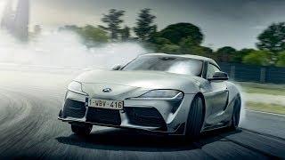 Взрываем шины Toyota Supra 2019