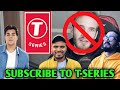 Amit Bhadana, Ashish Chanchlani Support T-Series In PewDiePie Vs T-Series Drama | BB Ki Vines |