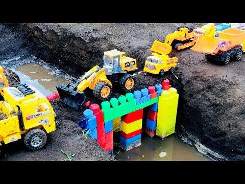 Carritos para niños | Camiones y tractores infantiles | Construcción de Puentes