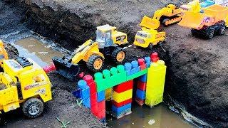 Carritos para niños   Camiones y tractores infantiles   Construcción de Puentes
