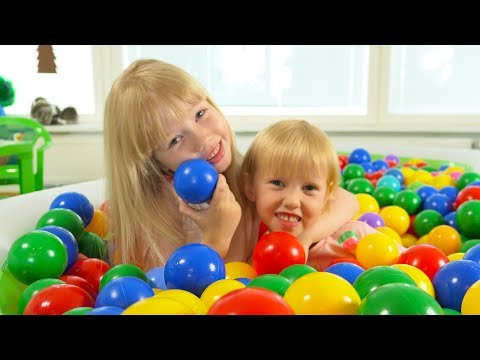 "The Ball Pit Show for learning colors #4 ""Summerland"" -- children's educational video"