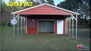 Shed4less - Metal Carports